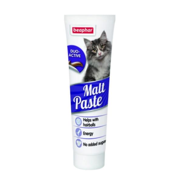 خمیر مالت گربه بیفار مدل آنتی هربال و بیوموس وزن 100 گرم