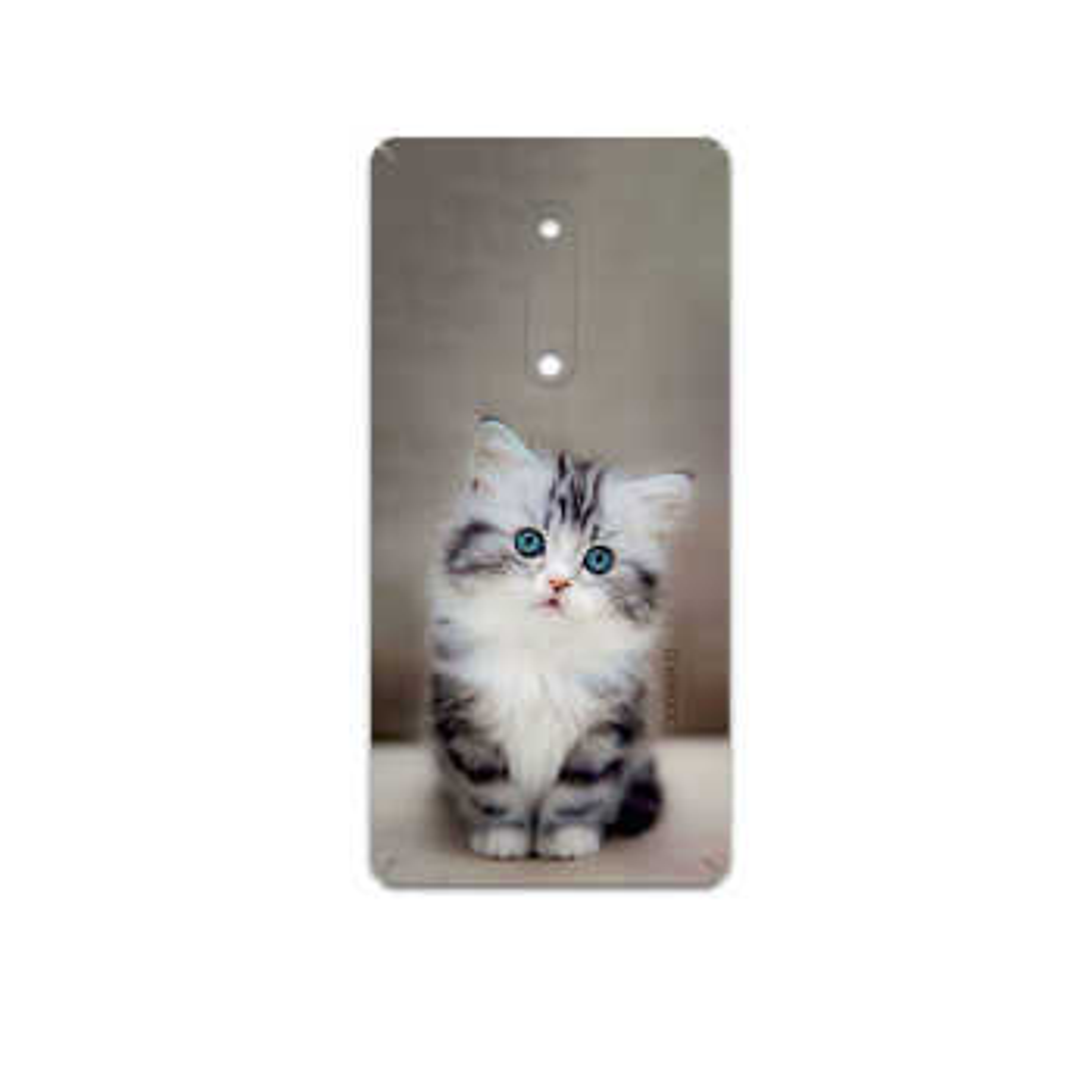 برچسب پوششی ماهوت مدل Cat-2 مناسب برای گوشی موبایل نوکیا 5