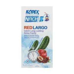 کاندوم کدکس مدل Red Cactus بسته 12 عددی