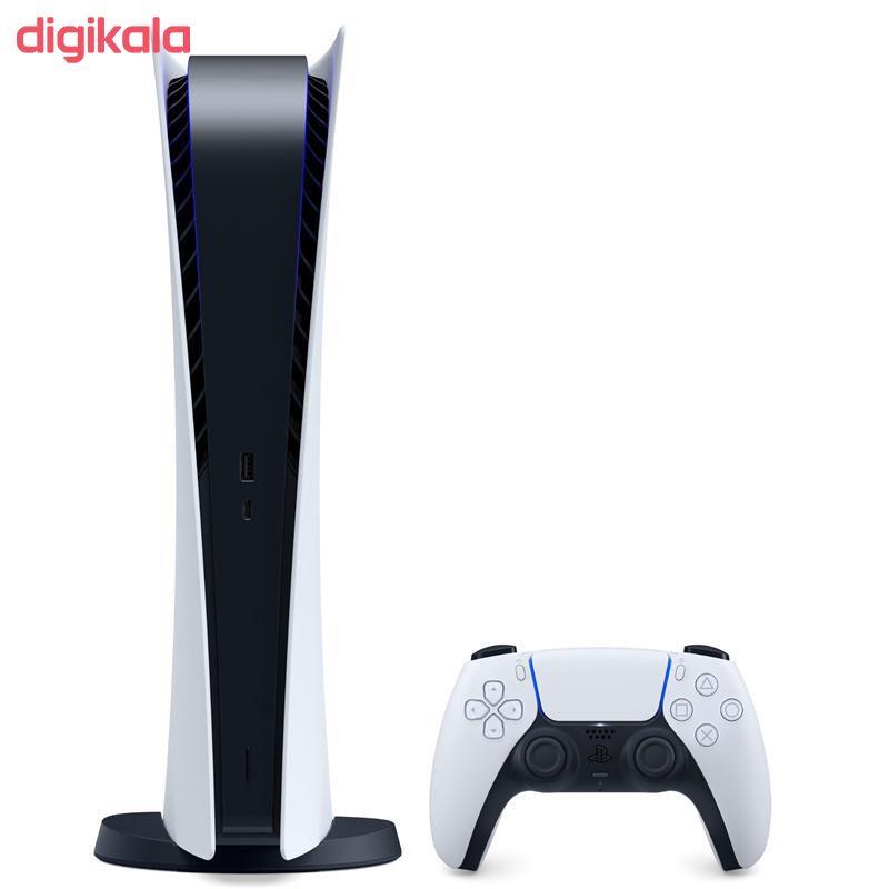 کنسول بازی سونی مدل Playstation 5 Digital Edition ظرفیت 825 گیگابایت main 1 2
