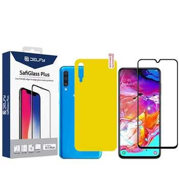 محافظ صفحه نمایش و پشت گوشی مدل Mo-2 مناسب برای گوشی موبایل سامسونگ Galaxy A70