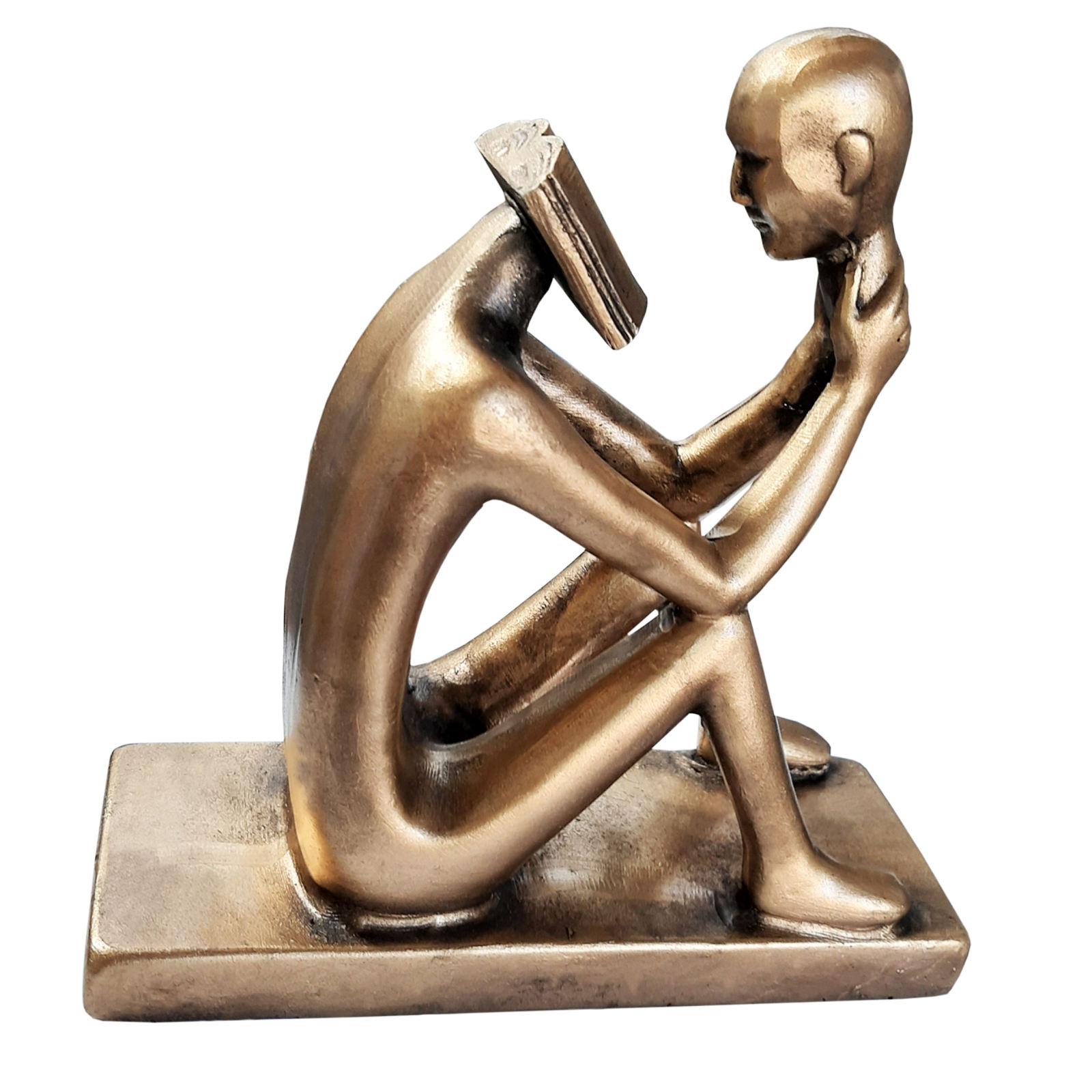 خرید                      مجسمه طرح مرد خردمند کد 6869