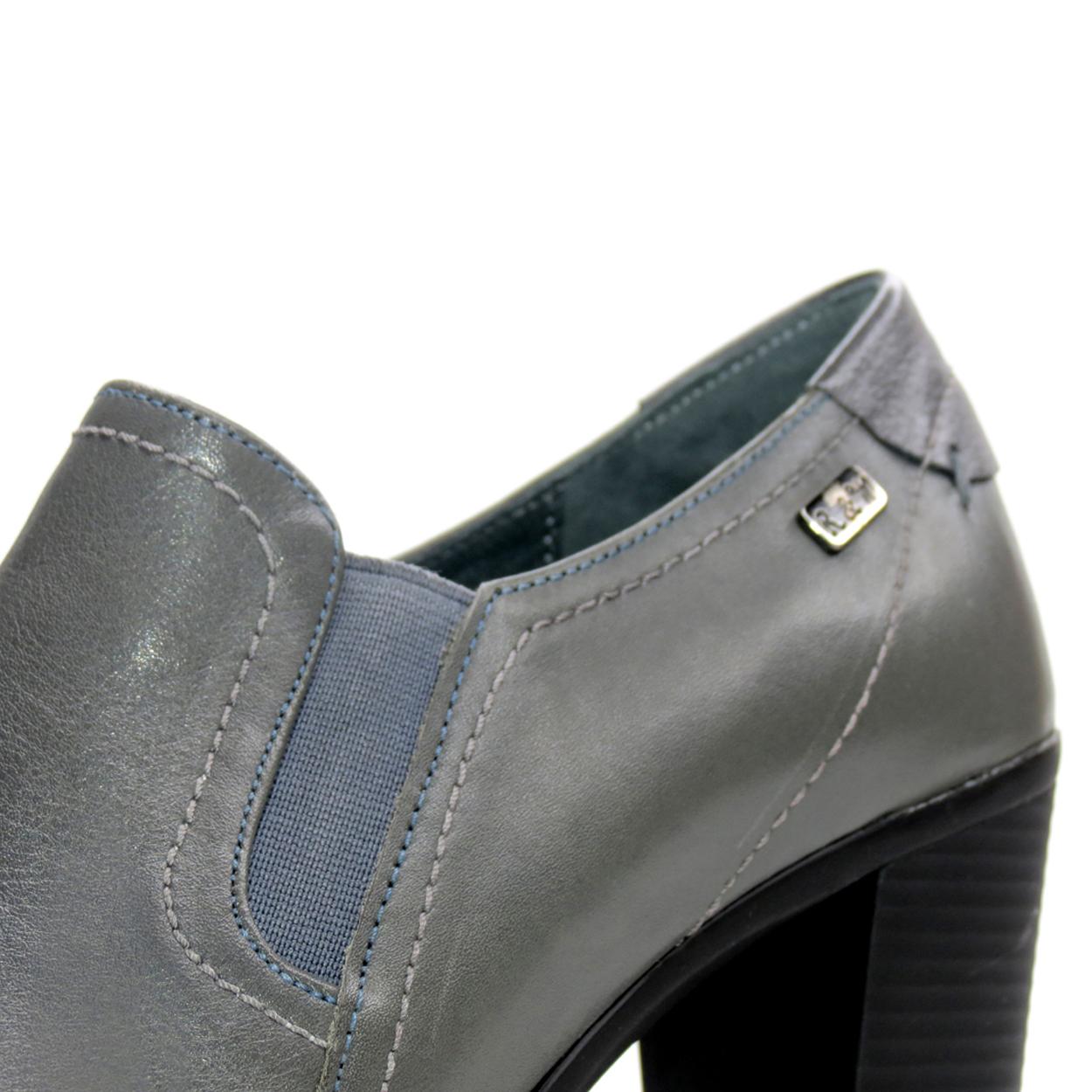 کفش زنانه آر اند دبلیو مدل 487 رنگ طوسی -  - 10