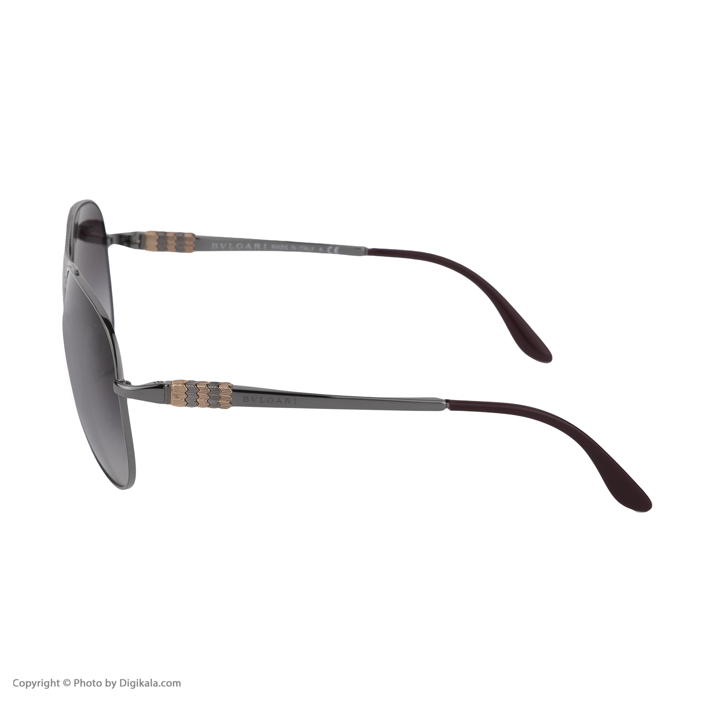 عینک آفتابی زنانه بولگاری مدل BV6075S 01038G -  - 4
