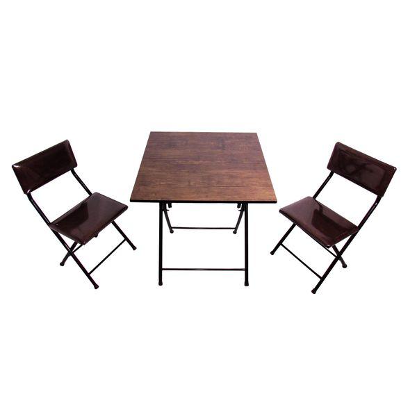 میز و صندلی ناهارخوری 2 نفره میزیمو کد 55010