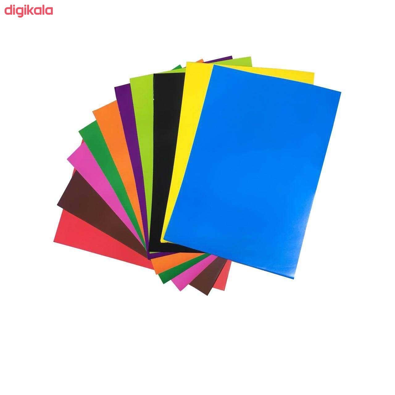 کاغذ رنگی A4 کد Pa 40 بسته 40 عددی main 1 3