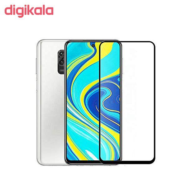 محافظ صفحه نمایش 9D مدل CR-A105 مناسب برای گوشی موبایل شیائومی Redmi Note 9/Note 9 Pro main 1 2