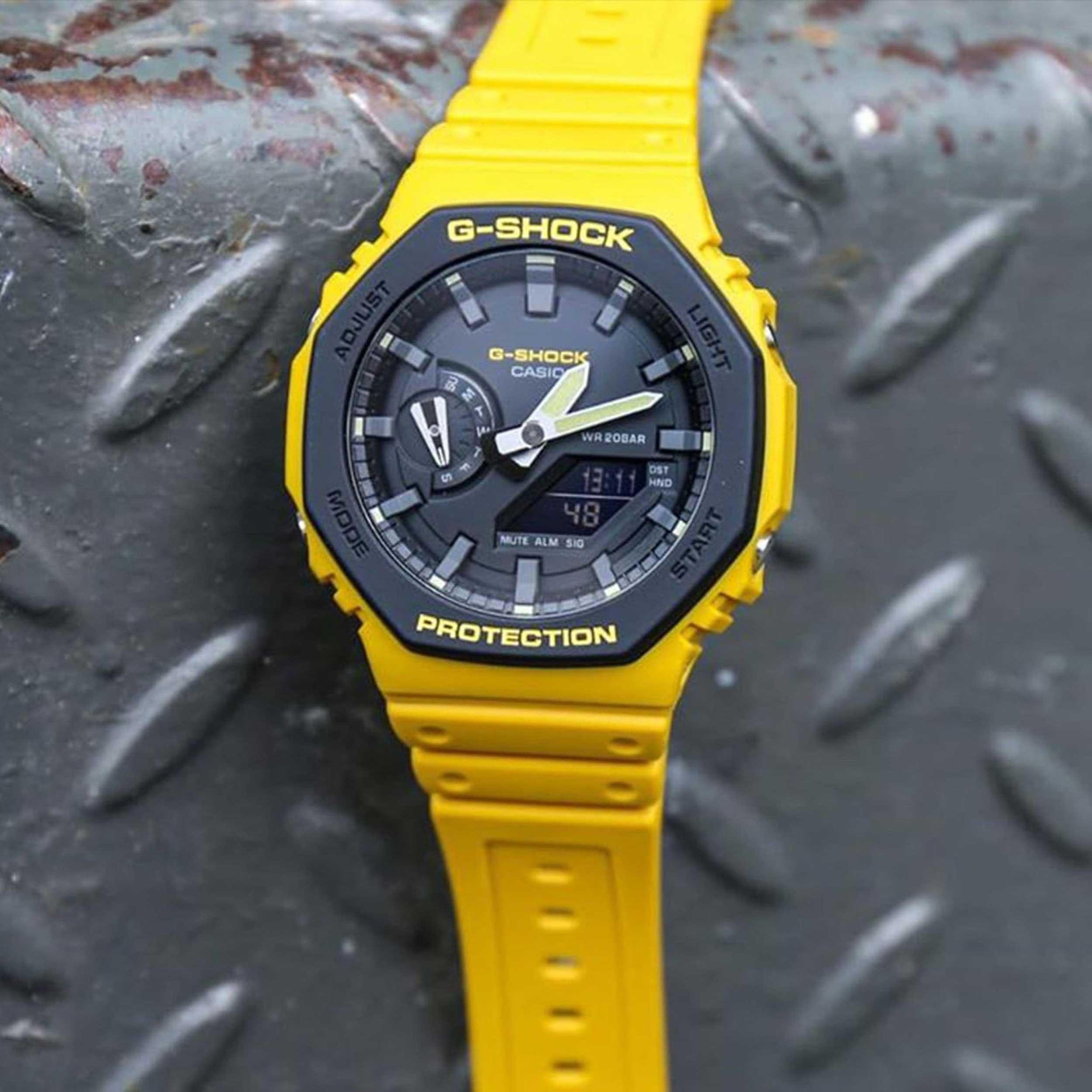 ساعت مچی  کاسیو مدل GA-2110SU-9ADR