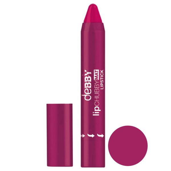 رژ لب مدادی  دبی مدل lipchubbymat  شماره 06