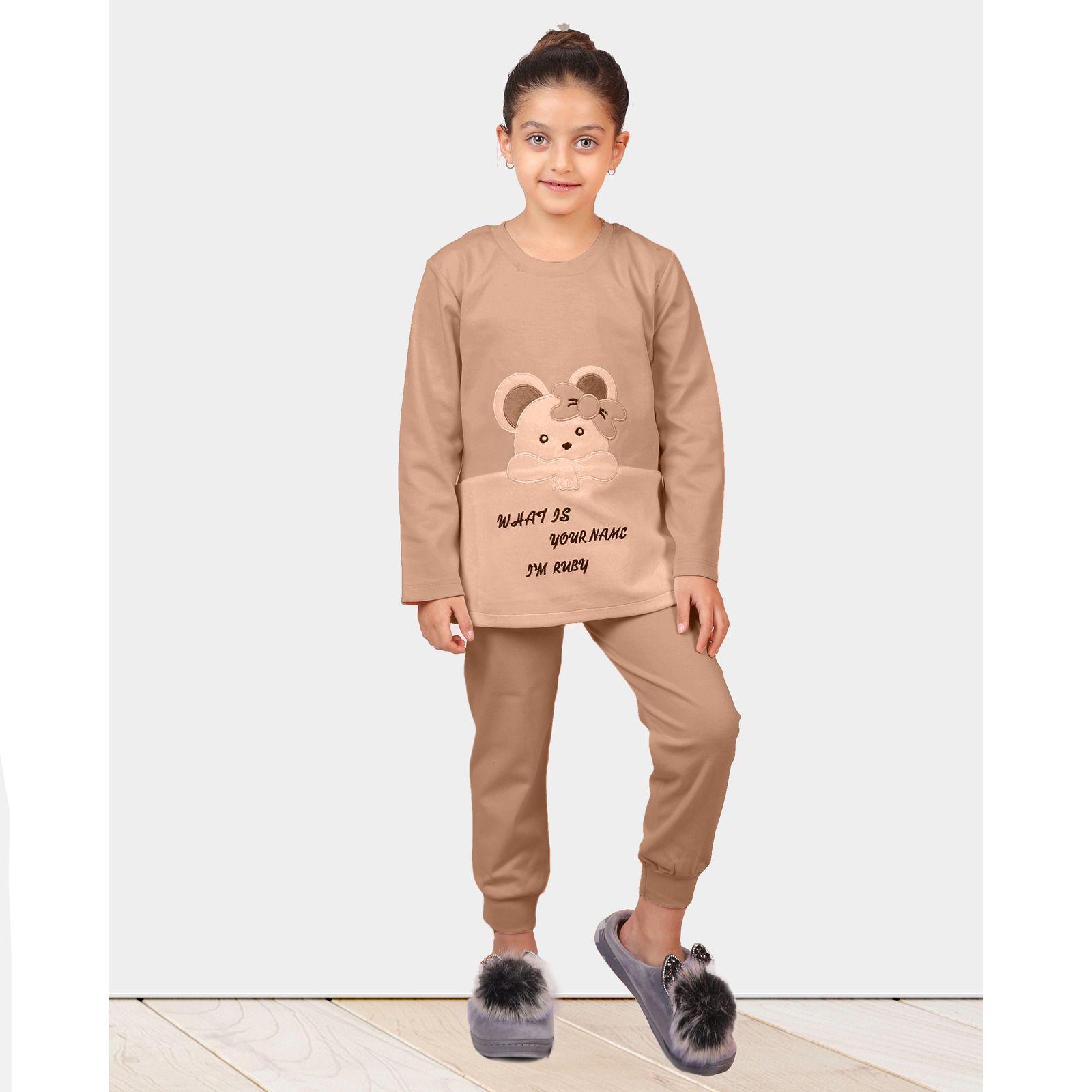 ست تی شرت و شلوار دخترانه مادر مدل 301-80 main 1 11