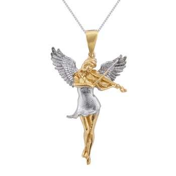 گردنبند نقره زنانه مدل فرشته کد N3140