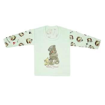 تی شرت آستین بلند نوزادی مدل 988581GR