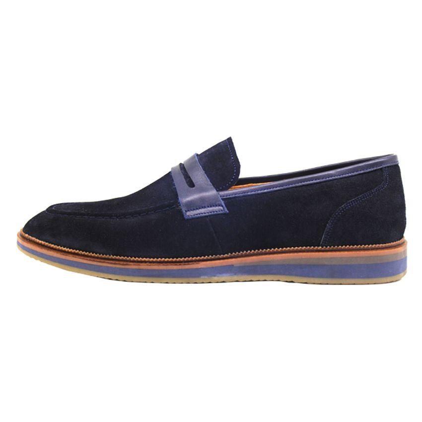 کفش روزمره مردانه چرم آرا مدل sh025 کد so