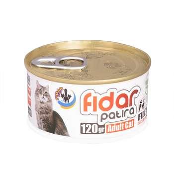 کنسرو غذای گربه فیدار پاتیرا مدل Adult D & C وزن 120 گرم