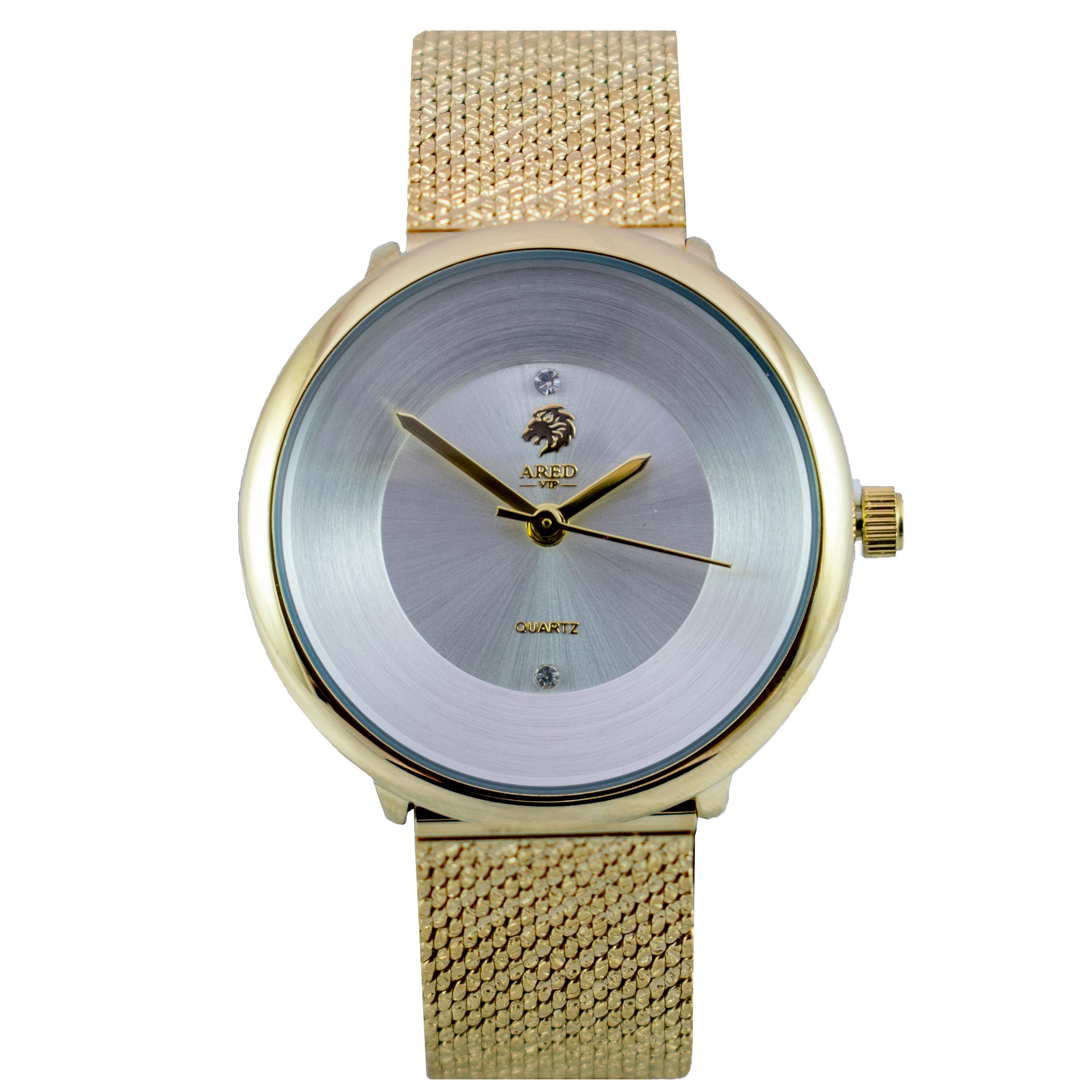 ساعت مچی عقربه ای زنانه آرد ویآیپی مدل A0124L