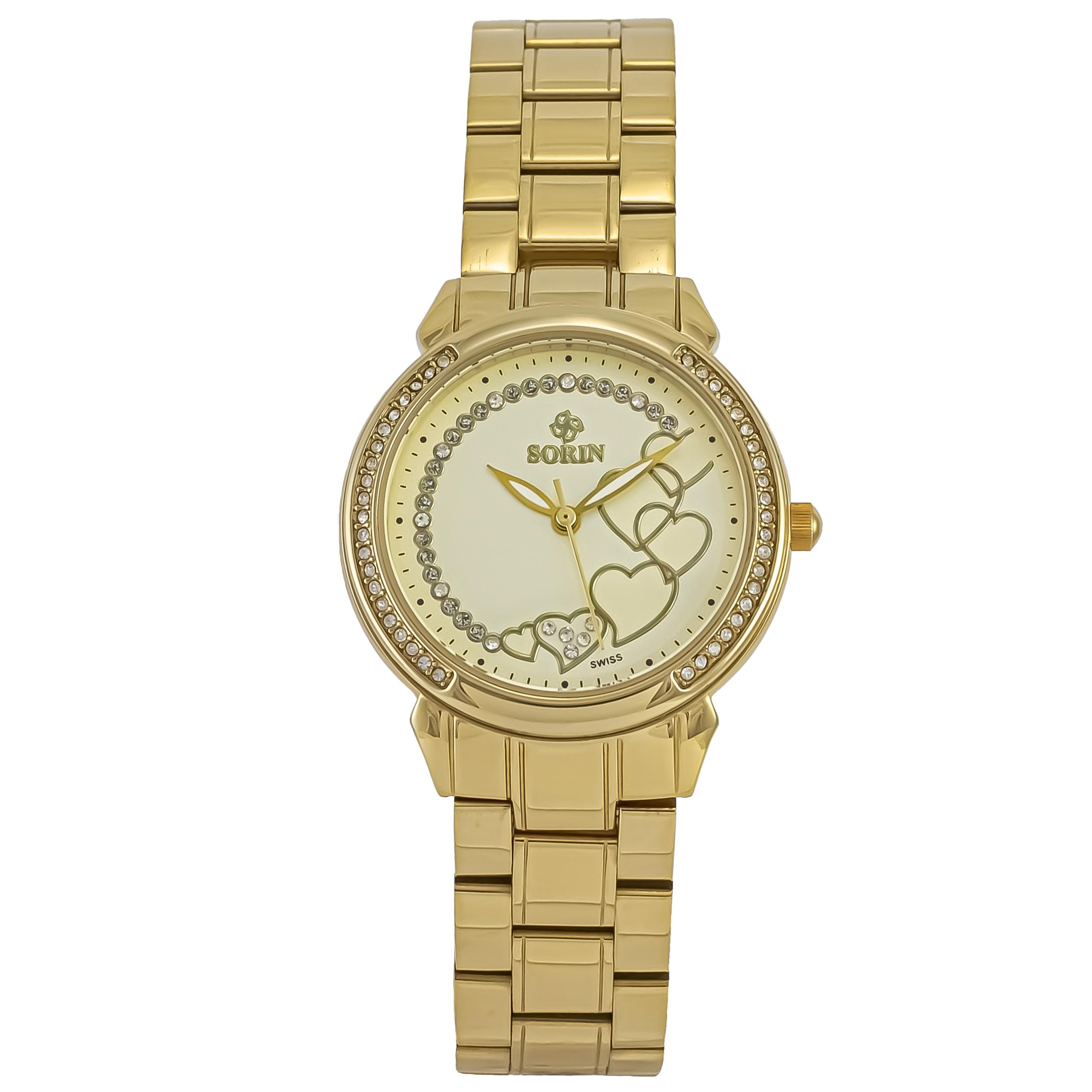 ساعت مچی عقربه ای زنانه سورین مدل SS0589L