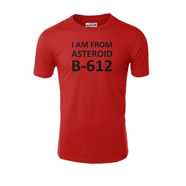 تیشرت آستین کوتاه مردانه فانتازیو طرح B-612 مدل 261 کد SHLPP019