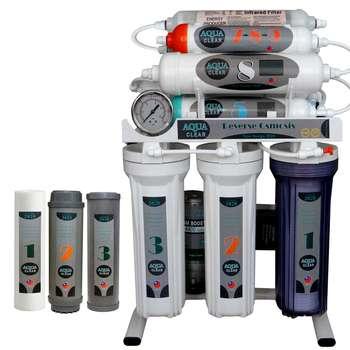 دستگاه تصفیه کننده آب آکوآ کلیر مدل NEW DESIGN2020 - ASF10 به همراه فیلتر مجموعه 3 عددی