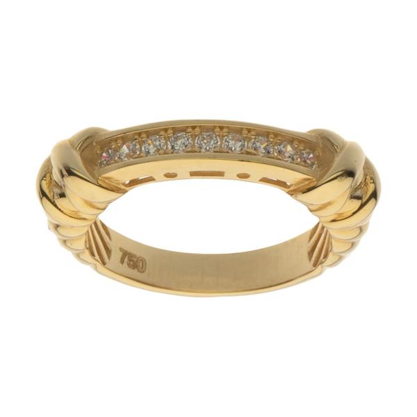 انگشتر طلا 18 عیار زنانه مایا ماهک مدل MR0633