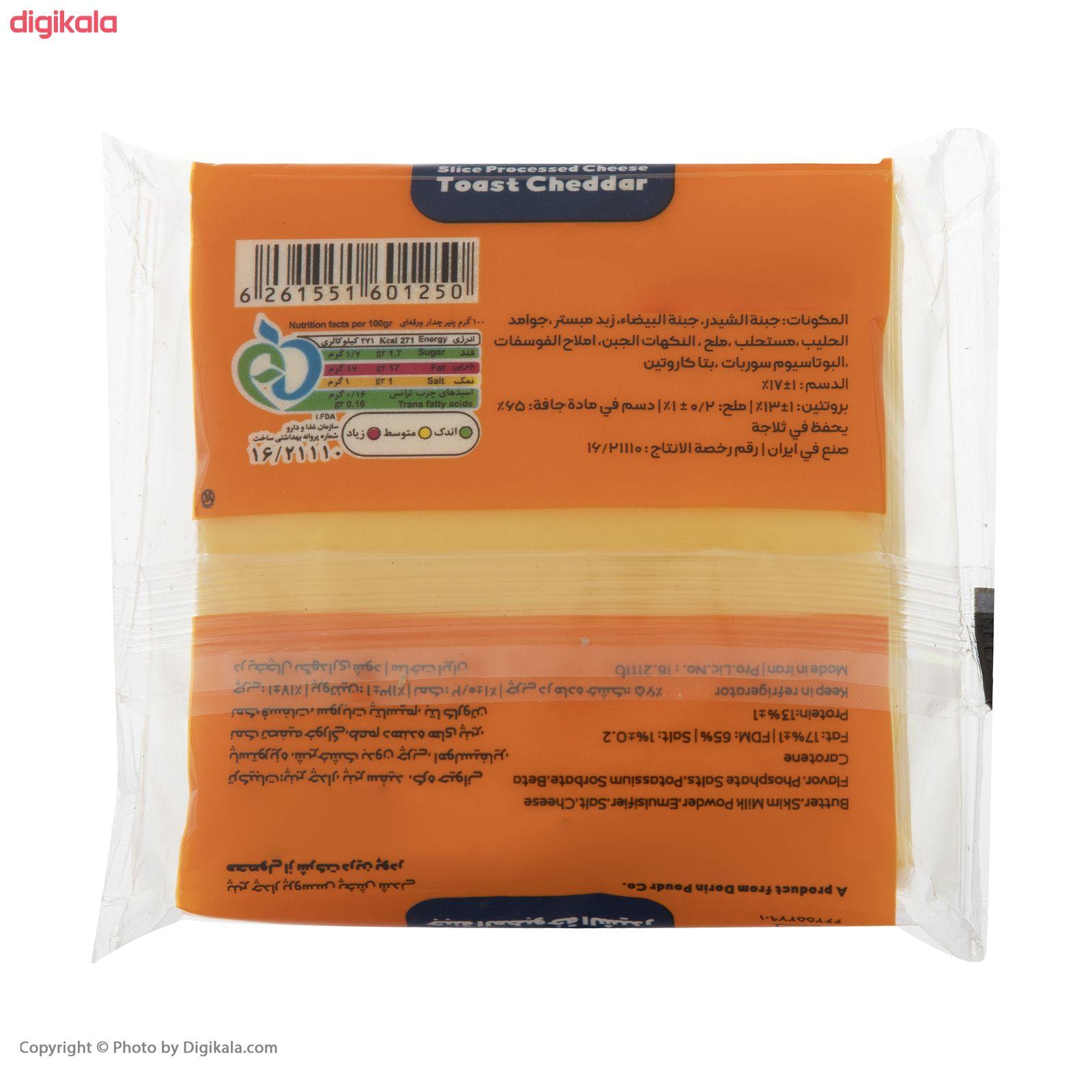 پنیر تست ورقه ای چدار کالین مقدار180 گرم main 1 4