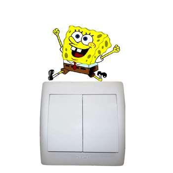 استیکر مستر راد طرح باب اسفنجی کد 006 SpongeBob
