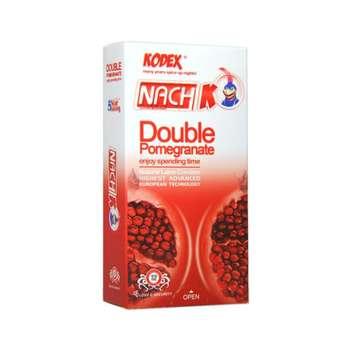 کاندوم ناچ کدکس مدل Double Pomegranate بسته 12 عددی