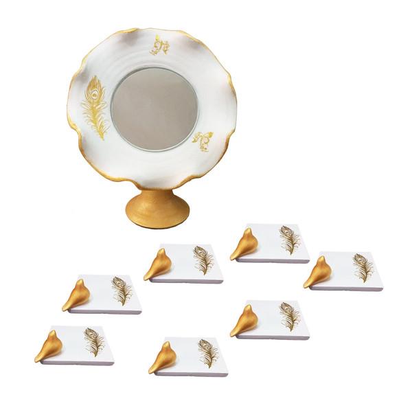 مجموعه 8 پارچه ظروف هفت سین طرح مربع