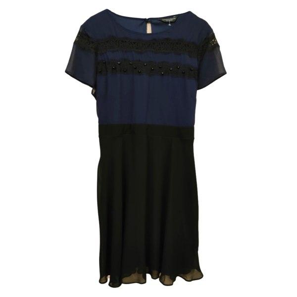 پیراهن زنانه دوروتی پرکینز مدل تور و سنگ دوزی کد 07