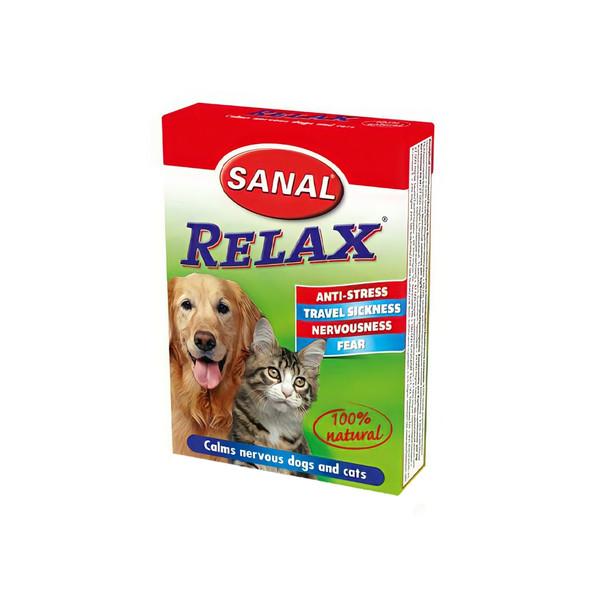 قرص آرام بخش سگ و گربه سانال مدل natural وزن 30 گرم