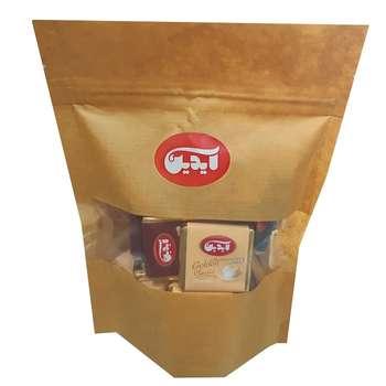 شکلات شیری سفید و تلخ گلدن آیدین - 200 گرم
