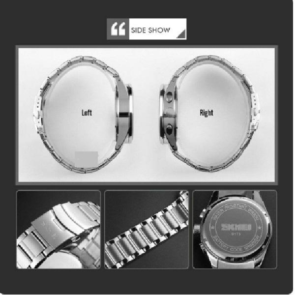 ساعت مچی عقربهای مردانه اسکمی مدل skmd5418