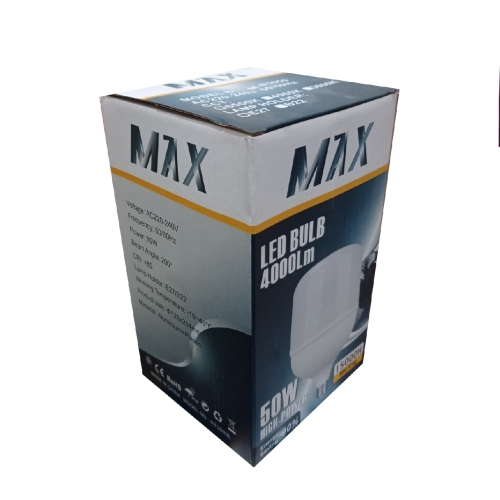 لامپ ۵۰ وات مکس مدل B08 پایه E27