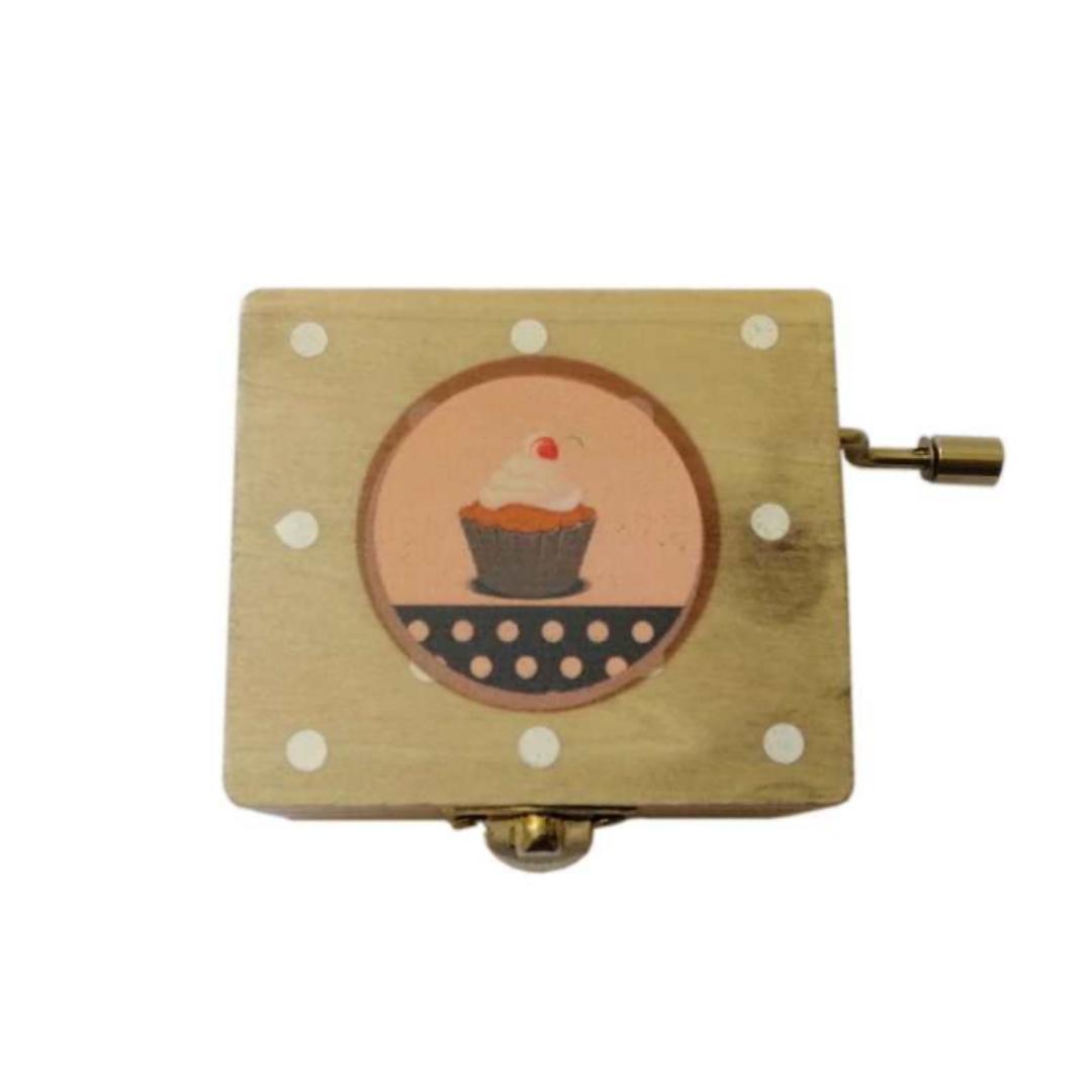 جعبه موزیکال مدل کاپ کیک