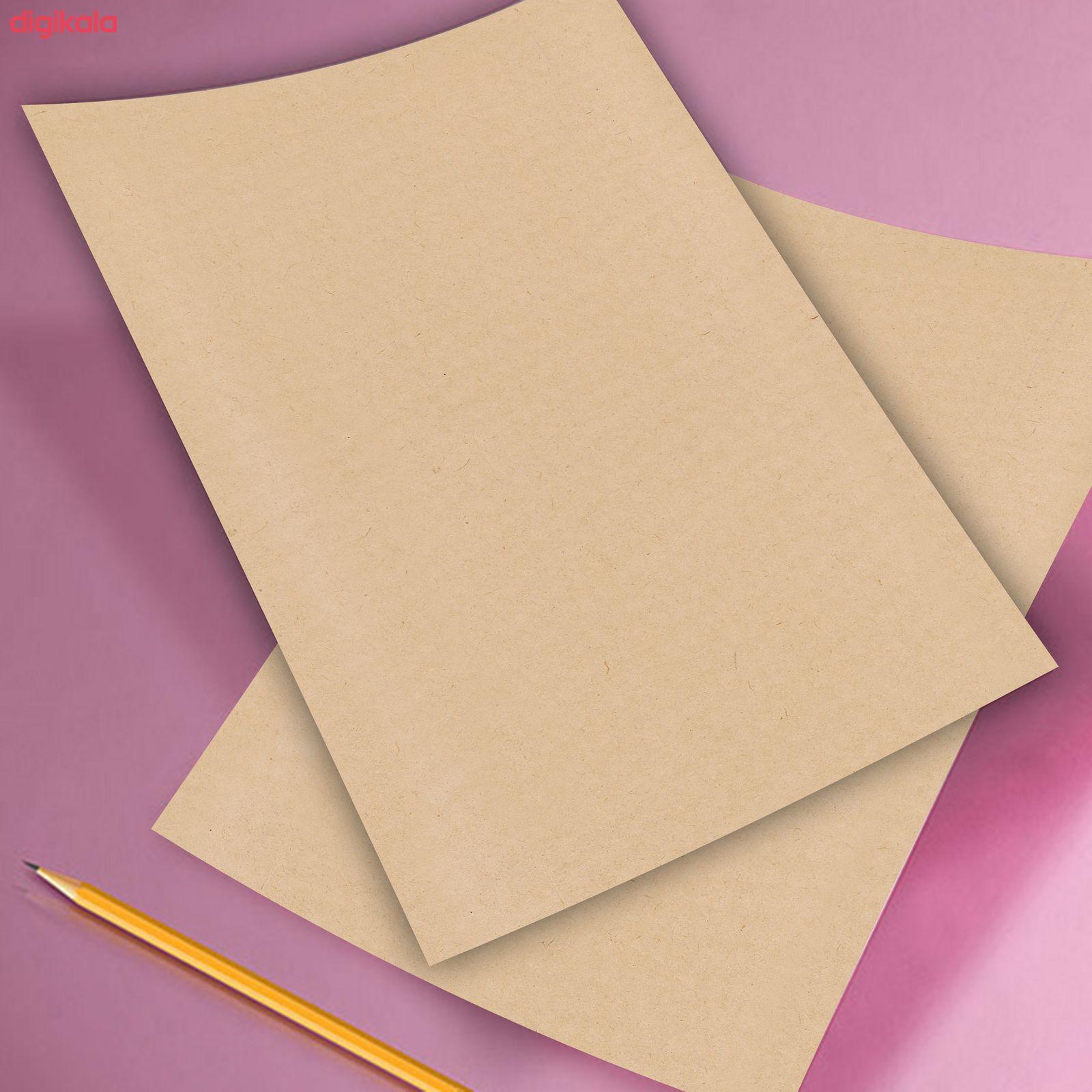 کاغذ کرافت مستر رادکد  1436بسته 50 عددی main 1 21