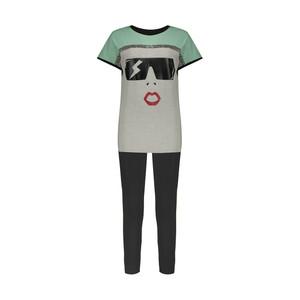 ست تی شرت و شلوار دخترانه مدل A32