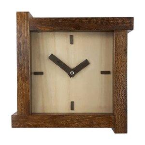ساعت دیواری چوبی کد 029