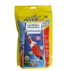 غذای ماهی مالزی مدل کوی POND stieks وزن 120 گرم