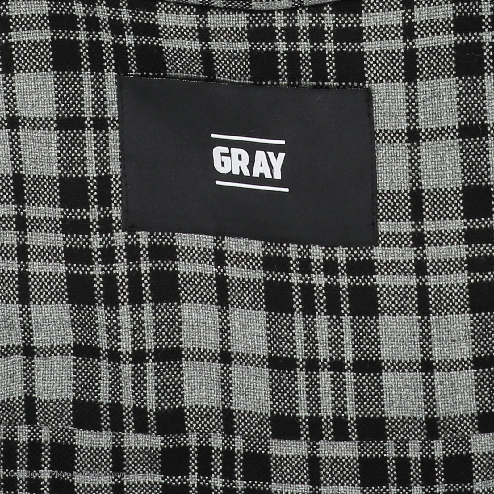 پیراهن مردانه گری مدل GW19 -  - 6