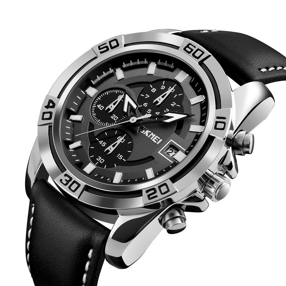 ساعت مچی عقربه ای مردانه اسکمی مدل 05-9156 -  - 5
