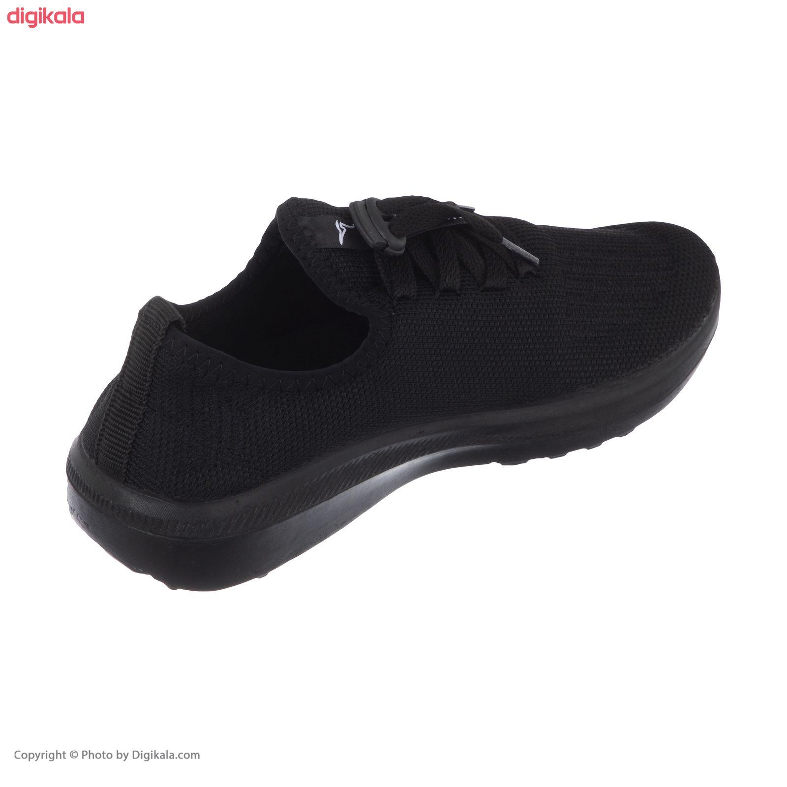 کفش راحتی چابک مدل آرشام رنگ مشکی main 1 4