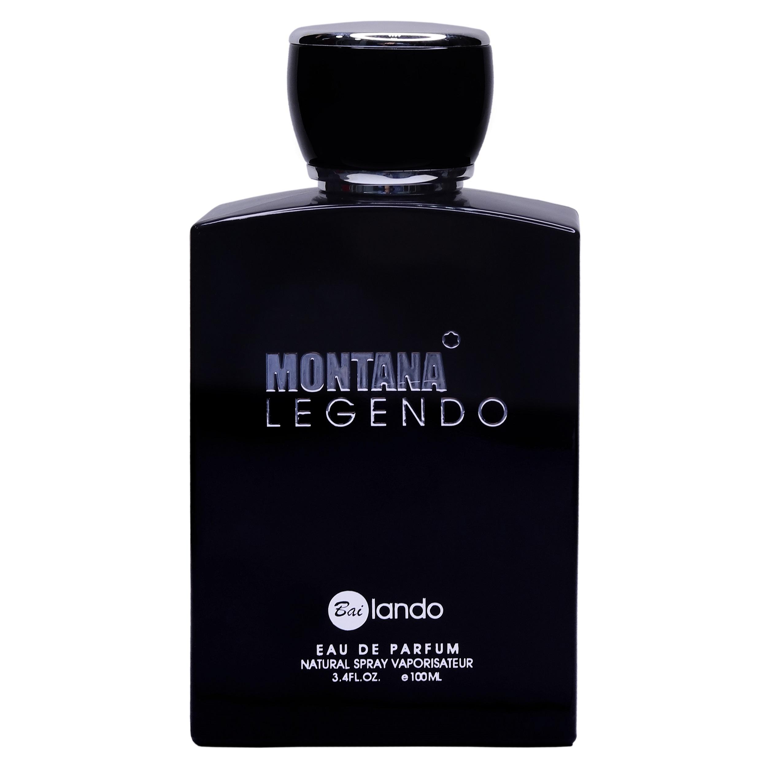 ادو پرفیوم مردانه بای لندو مدل MONTANA LEGENDO حجم 100 میلی لیتر