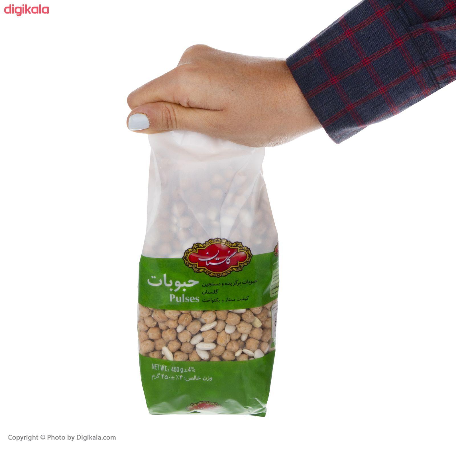 نخود و لوبیا گلستان مقدار  450 گرم main 1 1