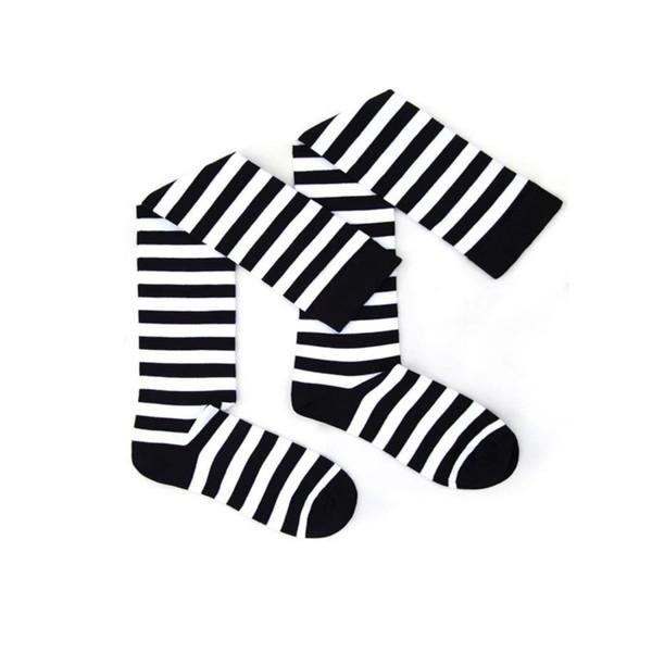 جوراب زنانه  طرح راه راه کد MD10