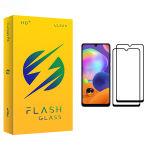 محافظ صفحه نمایش فلش مدل +HD مناسب برای گوشی موبایل سامسونگ Galaxy A31 بسته دو عددی