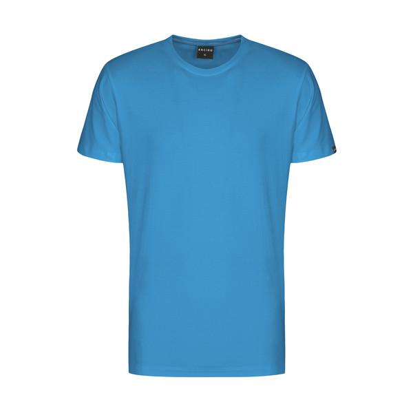 تیشرت آستین کوتاه مردانه ان سی نو مدل بیتر رنگ آبی