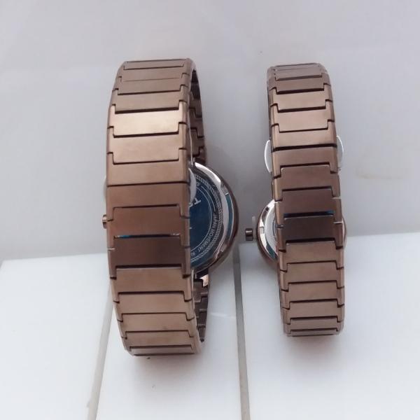 ست ساعت مچی عقربه ای زنانه و مردانه تلارو مدل T3020GLS7777