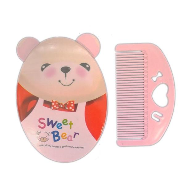 ست شانه و برس کودک مدل خرس کد ST-900