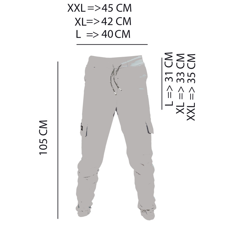 شلوار مردانه کد RR-40606