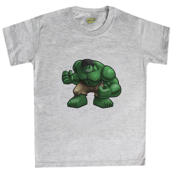 تی شرت پسرانه کارانس طرح هالک مدل  BTM-5326