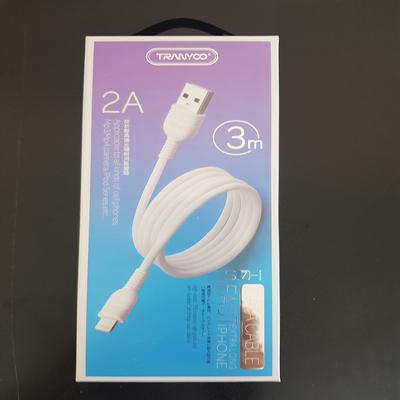کابل تبدیل USB به لایتنینگ ترانیو مدل s7-1 طول 3 متر